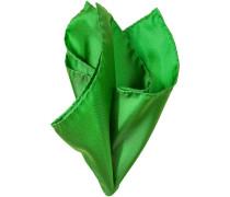 Herren Accessoires  Einstecktuch Seide grasgrün