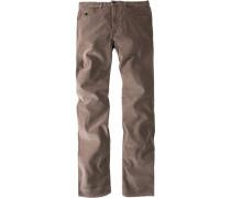 Herren CERRUT Cord- Jeans taupe beige