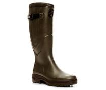 Herren Schuhe Wellington Naturkautschuk khaki grün