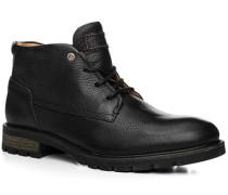 Schuhe Stiefelette Leder warm gefüttert