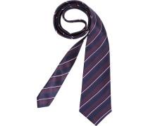 Herren Krawatte  blau,rot