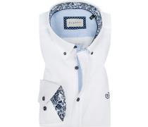 Hemd, Modern Fit, Popeline,