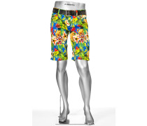 Hose Bermudas Pipe-K Regular Slim Fit Baumwolle