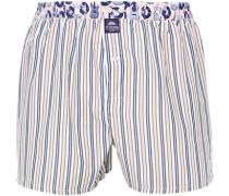 Unterwäsche Boxer-Shorts, Baumwolle, -navy gestreift
