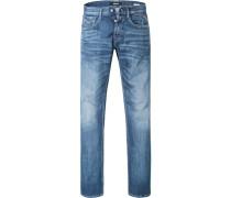Jeans Comfort Fit Baumwoll-Stretch 10,5oz indigo