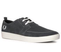 Schuhe Sneaker, Veloursleder Ortholite®, dunkelgrau