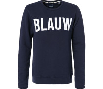 Pullover Sweater Baumwolle navy