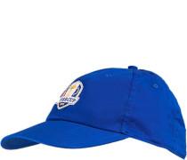 Cap, Baumwolle, königsblau