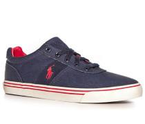 Herren Schuhe Sneaker Canvas denim blau,rot