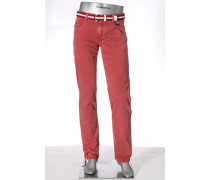 Jeans Pipe Regular Slim Fit Baumwoll-Stretch