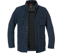 Steppjacke Microfaser Thermore® navy