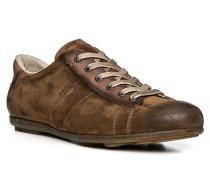 Herren Schuhe ANGUS Veloursleder braun