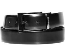 Herren Gürtel Wendegürtel schwarz Breite ca. 3,5 cm