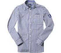 Hemd, Oxford, -weiß kariert