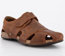 Sandalen Glattleder