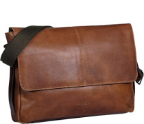 Tasche Messenger Bag Leder cognac