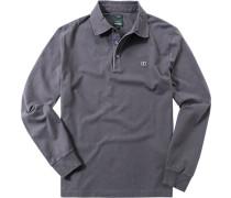 Polo-Shirt Slim Fit Baumwoll-Jersey