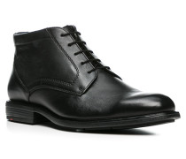 Herren Schuhe KANT Kalbleder warm gefüttert schwarz