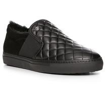 Schuhe Slipper, Leder warm gefüttert