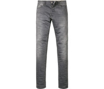 Blue-Jeans Baumwoll-Stretch