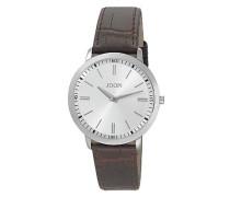 Herren Uhren  Chronograph Edelstahl braun