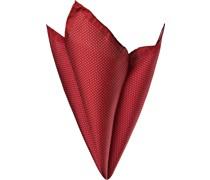 Accessoires Einstecktuch Seide rot gepunktet