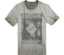 T-Shirt Baumwolle taupe