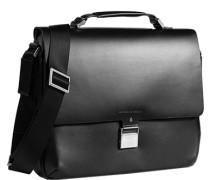 Herren Tasche  Business-Case Leder schwarz