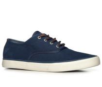 Herren Schnürschuhe Textil marineblau blau,blau