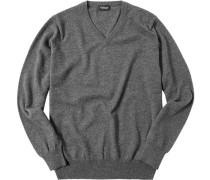 Pullover, Kaschmir, meliert