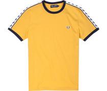 T-Shirt Baumwolle maisgelb