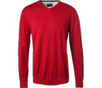Pullover, Wolle-Baumwolle,