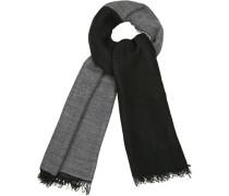 Schal, Wolle-Alpaka, grau-