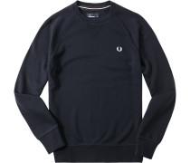 Pullover Sweater Baumwolle marine