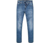 Jeans Classic Fit Baumwoll-Stretch denim