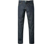 Jeans Slim Fit Baumwolle 14 oz indigo