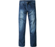 Jeans Classic Comfort Fit Baumwolle jeansblau