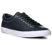 Schuhe Sneaker, Leder, navy