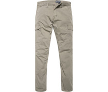 Hose Cargopants Baumwolle khaki