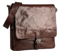 Herren Tasche strellson Messenger Bag Leder cognac braun