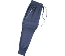 Schlafanzug Pyjamahose, Modal, navy