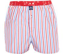 Unterwäsche Boxer-Shorts, Baumwolle, -blau gestreift