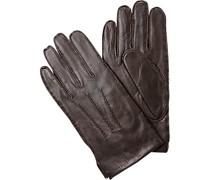 Handschuhe Leder dunkelbraun