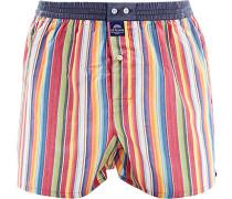 Herren Unterwäsche Boxershorts Baumwolle multicolor gestreift