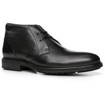 Herren Schuhe Desert-Boots Leder schwarz schwarz,schwarz