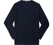 Pullover Baumwolle nachtblau