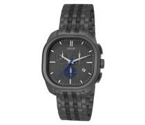 Herren Uhren  Uhr Edelstahl grau