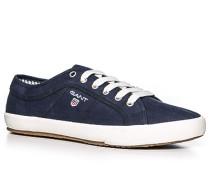 Herren Schuhe Sneaker Fischgrat marine blau,blau