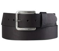 Herren Gürtel schwarz Breite ca. 4,5 cm