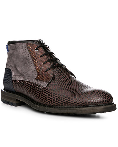 Schuhe Schnürstiefeletten, Rindleder